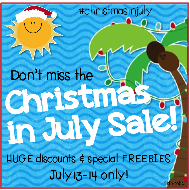 Christmas in July Sale on Teachers Pay Teachers. www.counselorup.com