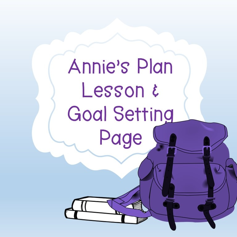 The book follows a little girl, Annie, who has a hard time staying focused and doing her best in school. This is a go-to book to teach organization, goal setting, and other study skills. I have taught whole-class lessons, group sessions, and used the book in individual sessions. It really is an essential to the elementary counselor's office. I've created a lesson plan with a cute printable using the concept of a GPS to know where you're going and the ultimate question: how will you know when you get there?