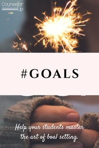 Goals are important. Help kids master the art of goal setting. www.counselorup.com