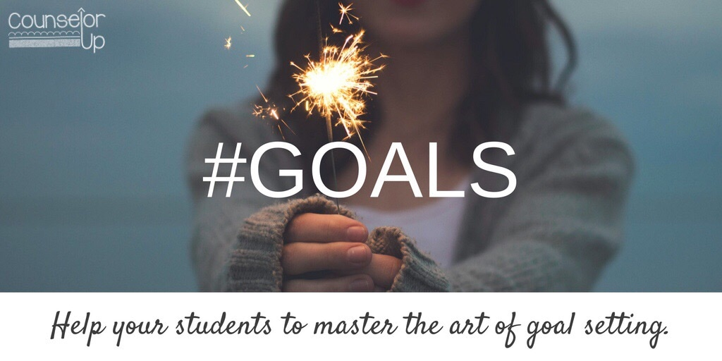 Goals are important. Help your students to master the art of goal setting. www.counselorup.com