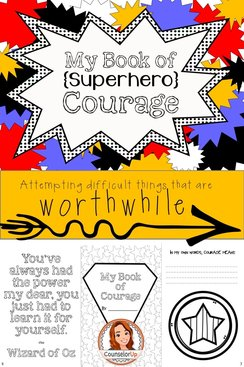 Fun booklet exploring Courage! Use as an introduction or a summative activity. Click on preview to see all pages. Creates an 8 page booklet using only 2 sheets of paper (printed front to back). Easy to fold so students can work independently.   Booklet includes vocabulary strategies: Define in own words, illustrate, synonyms, use in a sentence, text to self connection