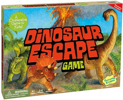 Cooperative Games for School Counseling: Dinosaur Escape