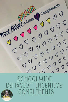 Lots of people think PBIS and they think tickets/dollars/dojos with school stores and big huge individual reinforcement initiatives.   Guess what? Nobody has time for that. I mean, I guess they do, but I was never up for it. At the schools where I've worked, we've implemented Class Compliments. Free Download!